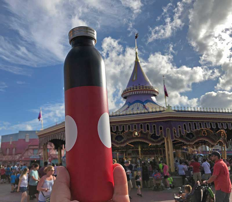 Eating at Disney World on a Budget - Refillable Water Bottle