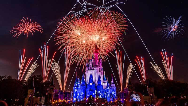 Fourth of July - Magic Kingdom