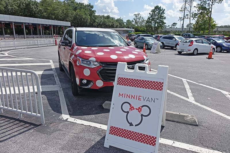Minnie Van Service - Pick Up Station