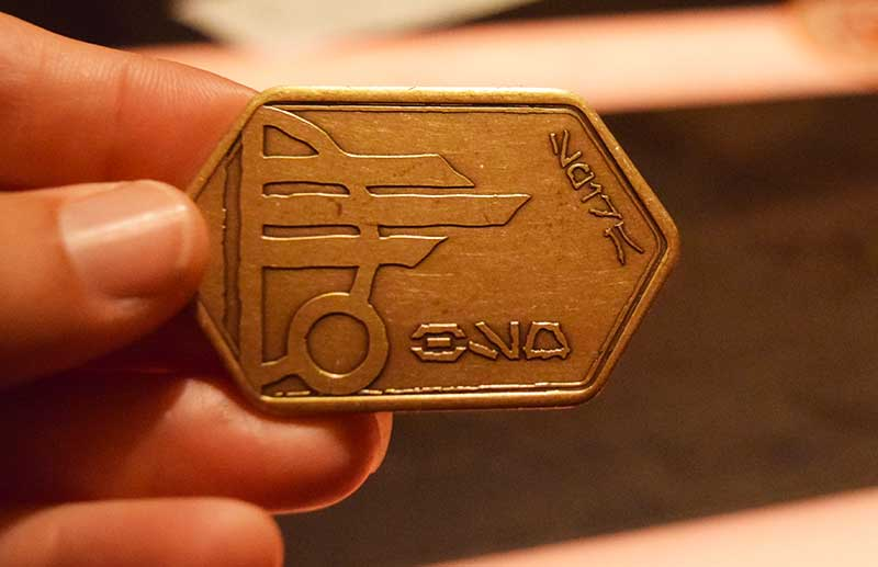 Galacatic Guide to Star Wars: Galaxy's Edge-coin