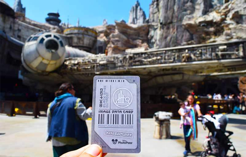 Galactic Guide to Star Wars: Galaxy's edge-data card