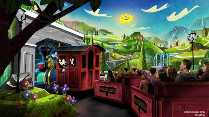 What's Coming to Disneyland and Universal-Mickey-Runaway-Railway