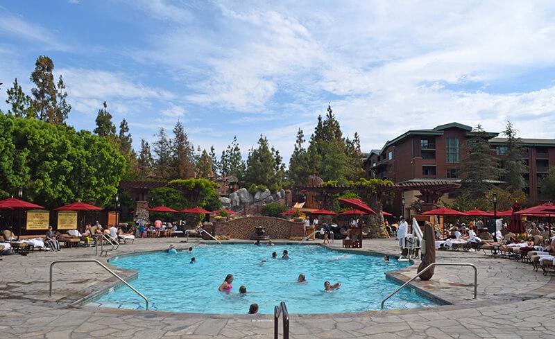 Benefit of Staying at a Disneyland Resort Hotel - Disney's Grand Californian Pool