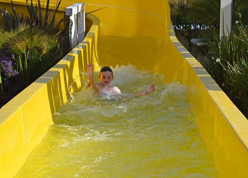 Benefit of Staying at a Disneyland Resort Hotel - Disney's Paradise Pier Water Slide