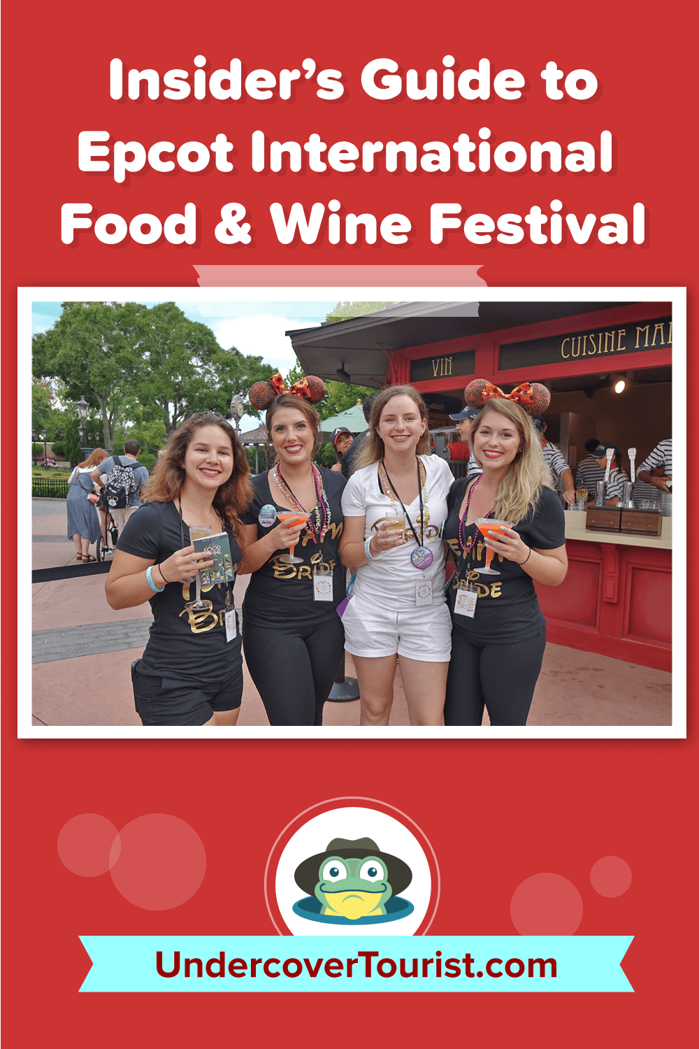 Epcot Food and Wine Guide