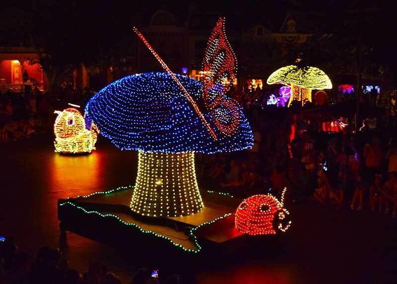 Best Viewing Main Street Electrical Parade - Mushroom