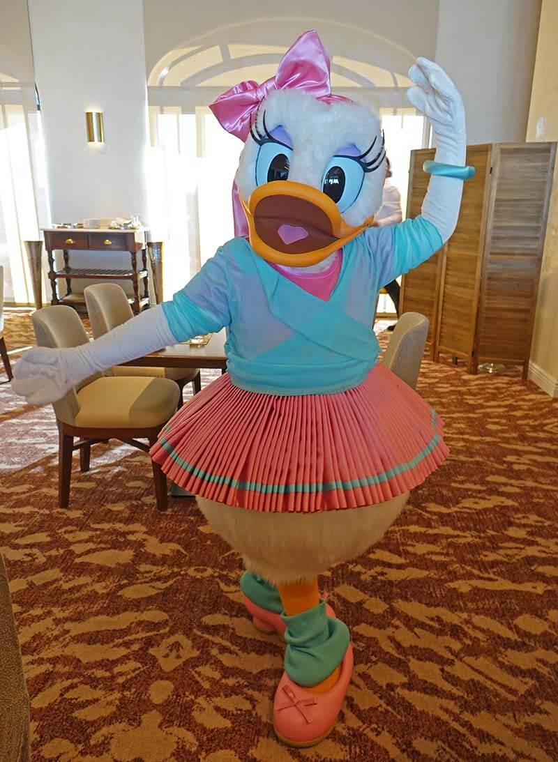 Disney World Character Dining Ranked - Daisy at Topolino's Terrace