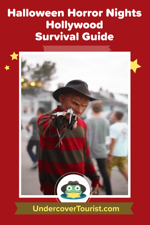 Halloween Horror Nights 2019 Poster.Halloween Horror Nights Hollywood Survival Guide