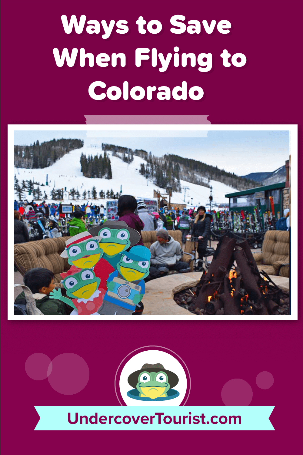 Ways to Save when Flying to Colorado-Pinterest Header