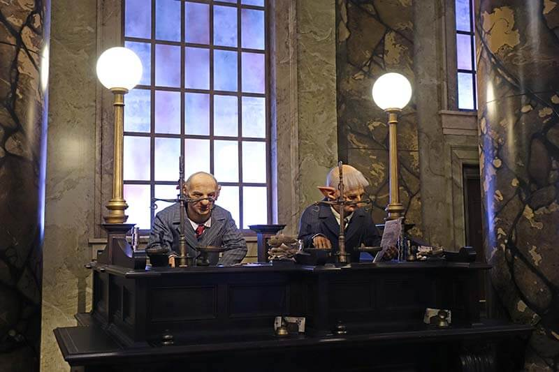 Best Queues at Universal Orlando - Harry Potter and the Escape from Gringotts