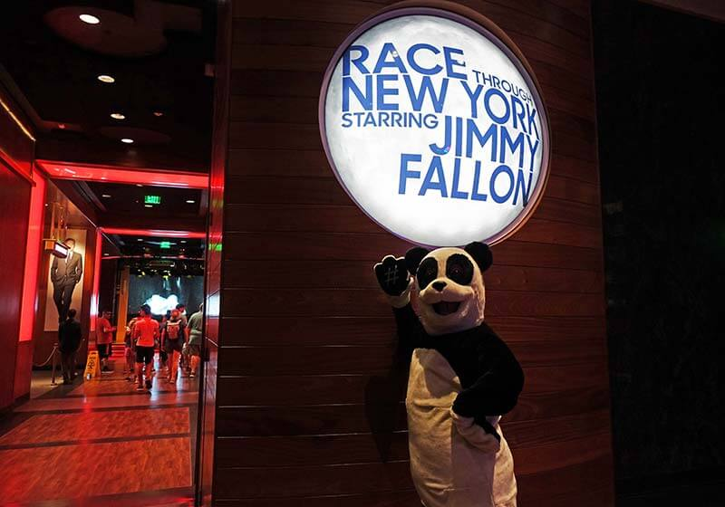 Best Queues at Universal Orlando - Race Through New York Starring Jimmy Fallon