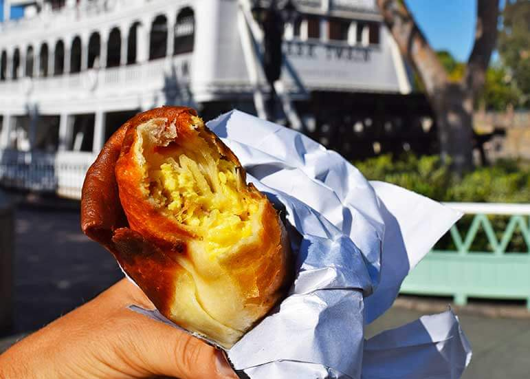 Breakfast in Disneyland Parks - Chimichanga