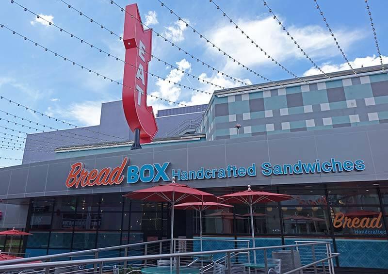 Cheap Food at Universal Orlando - Bread Box