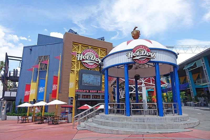 Cheap Food at Universal Orlando - Hot Dog Hall of Fame