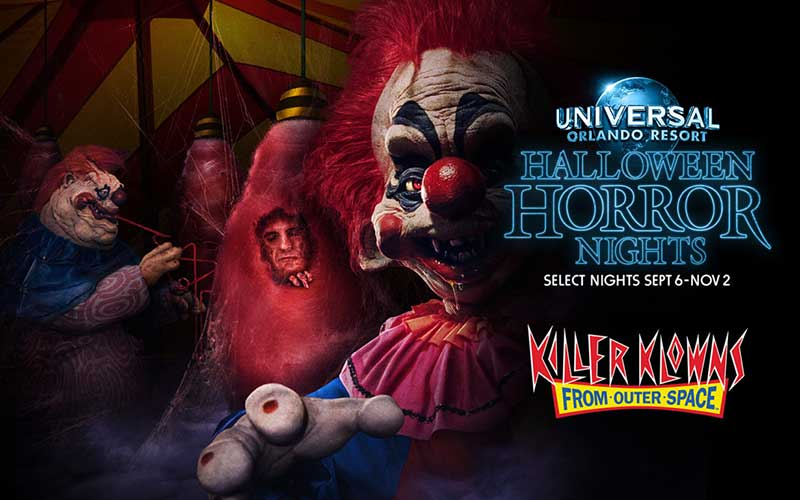Halloween Horror Nights - Killer Klowns from Outer Space