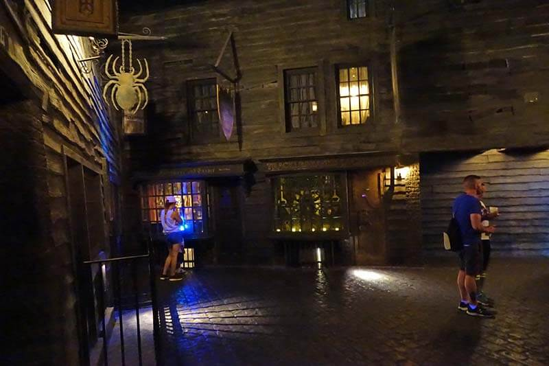 Sensory Breaks at Universal Orlando - Knockturn Alley