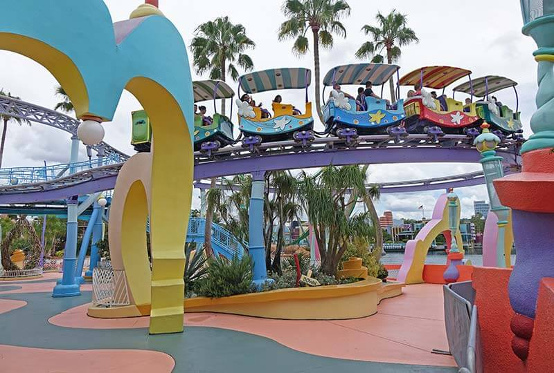 Sensory Breaks at Universal Orlando - Sneetch Beach Walkway