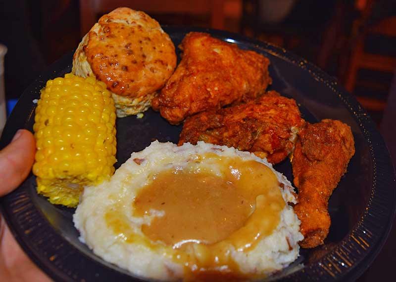 Best Universal Studios Hollywood Restaurants - Chicken