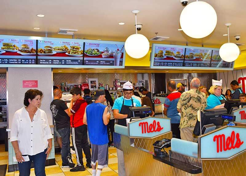 Best Universal Studios Hollywood Restaurants - Mel's