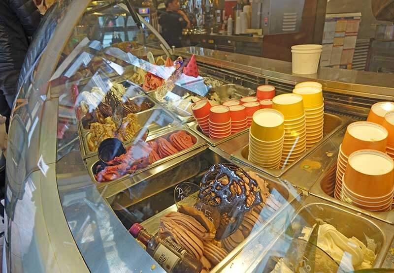 Vail Gelato Shop in Lionshead