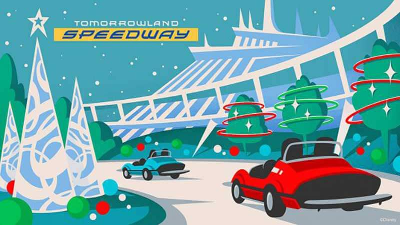 Christmas in July! Holiday Ride Overlays Coming to Mickey's Very Merry Christmas Party