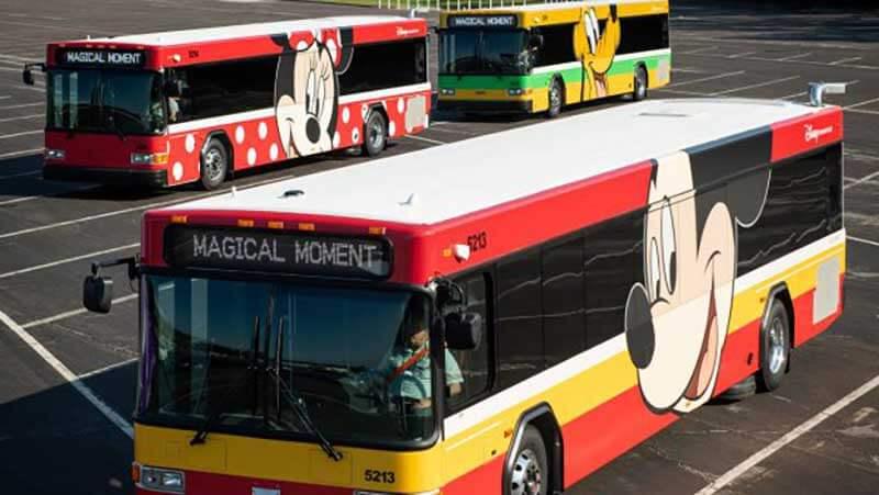 Walt Disney World Bus Makeover