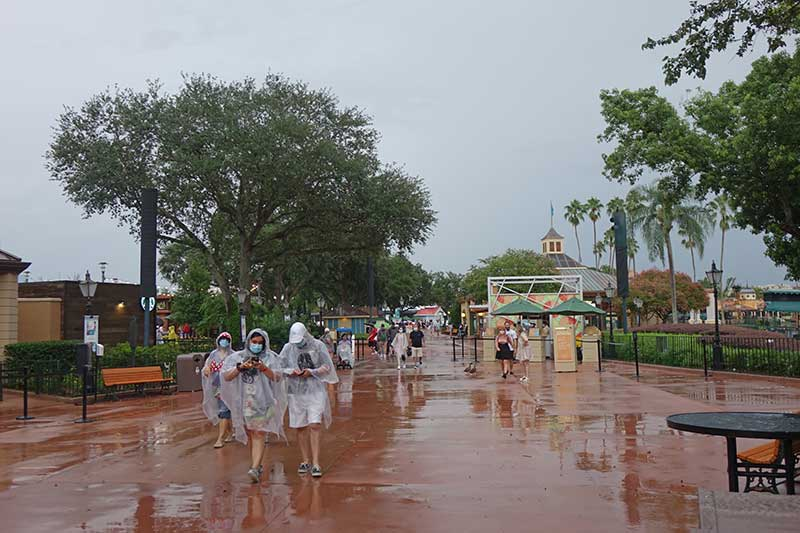 What to Do on a Rainy Day at Disney World