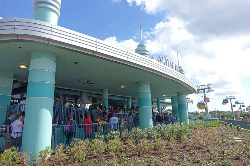 Hollywood Studios Free Transportation - Skyliner Station