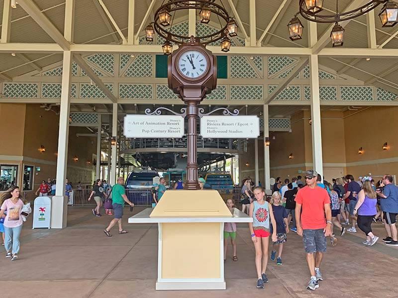Disney Skyliner - Caribbean Beach Hub