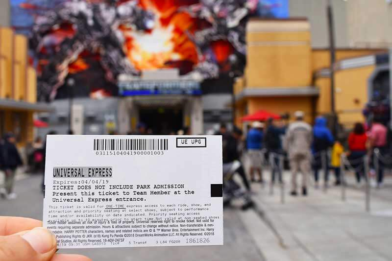 When to Hop on Universal Studios Hollywood Express Pass