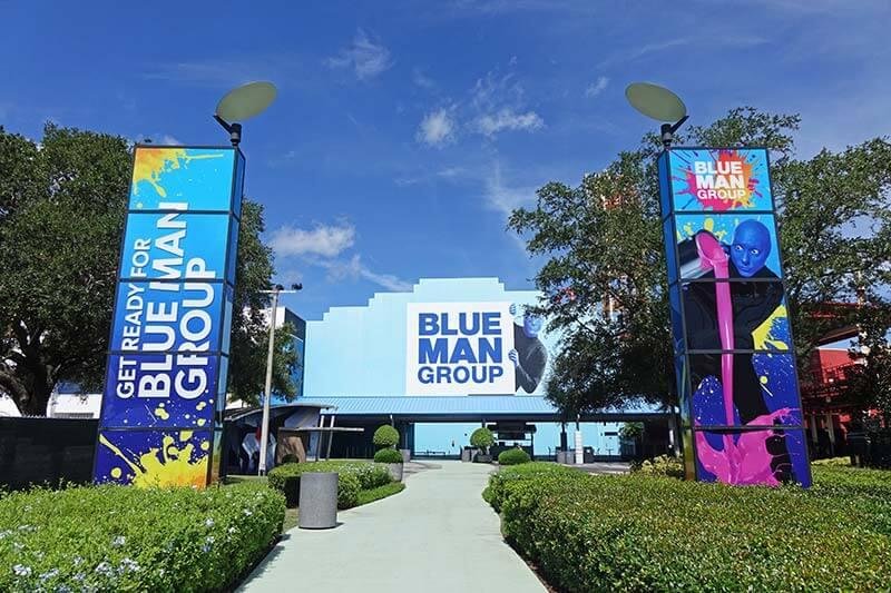 Celebrating a Birthday at Universal - Blue Man Group