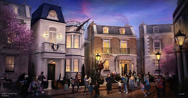 Epcot Changes - Mary Poppins