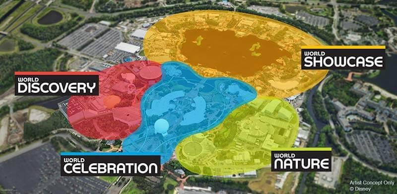 Epcot Changes - Epcot's New Neighborhoods