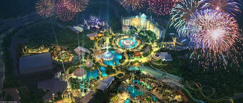 Universal's Epic Universe concept art