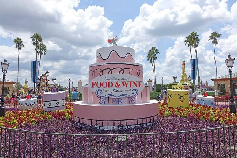 Epcot Food and Wine Festival - Photo Op