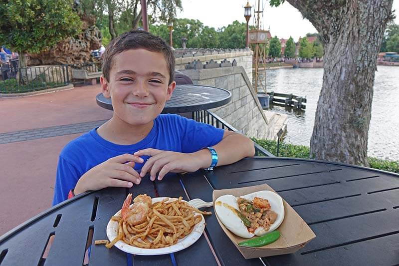 Epcot Food and Wine Festival - Let the Kids Have Fun