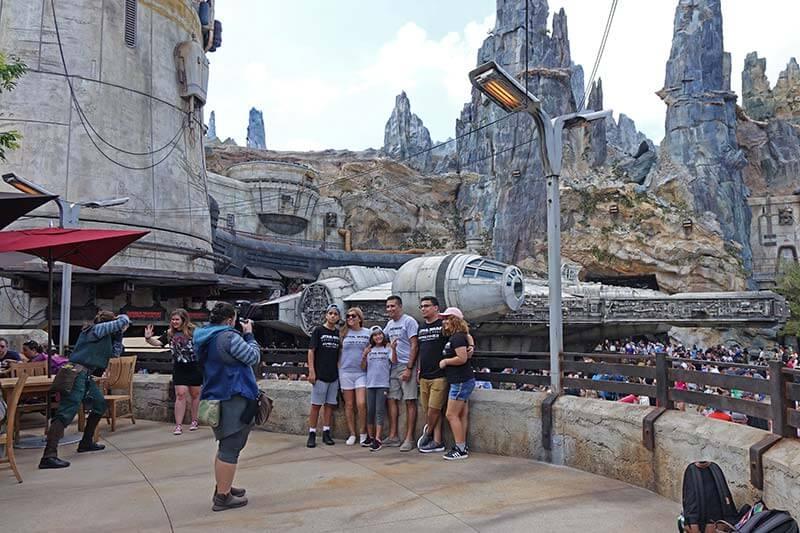 Galaxy's Edge Disney World - PhotoPass Location