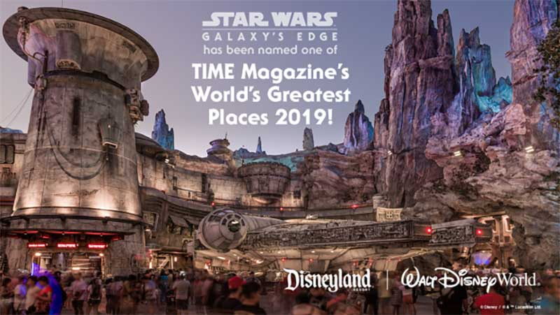 Time's 100 Greatest Places - Galaxy's Edge