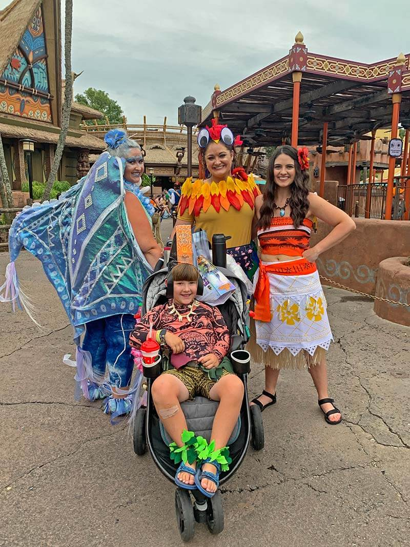 Mickey's Not So Scary Moana Costumes