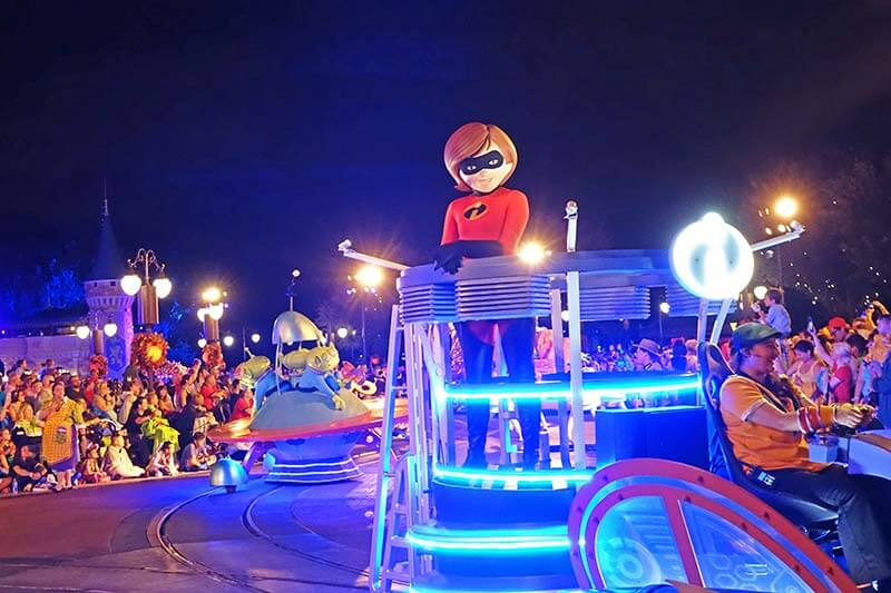 Mickey's Boo-To-You Parade - Mrs. Incredible