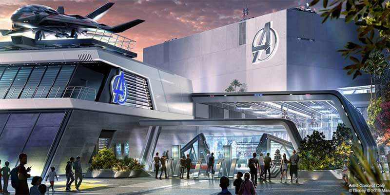What's Coming to Disneyland and Universal in 2019 and Beyond - Avengers Campus