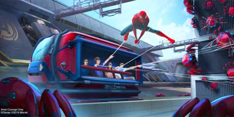 What's Coming to Disneyland and Universal in 2019 and Beyond - Spider-Man