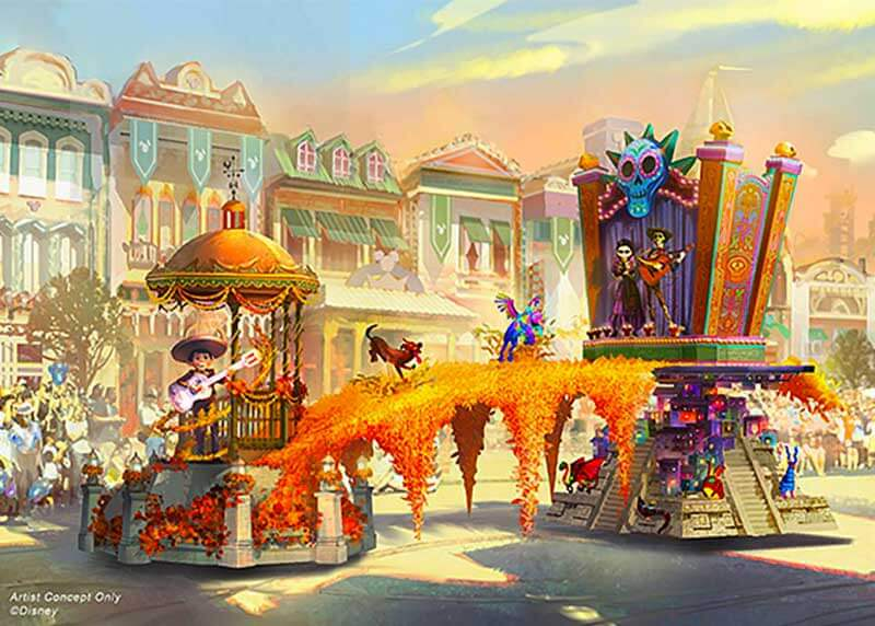 All of the Magical Details of Disneyland's Brand-New 'Magic Happens' Parade