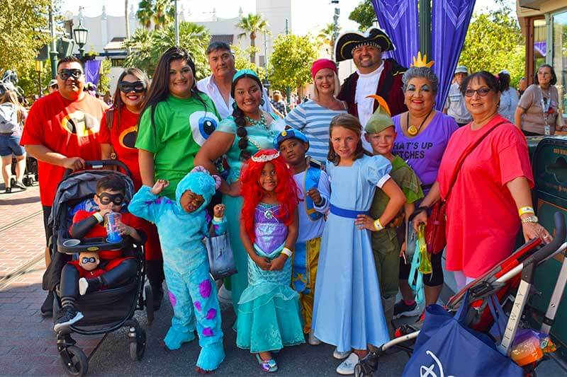 Disneyland Debuts an All-New Halloween Party for 2019-big family