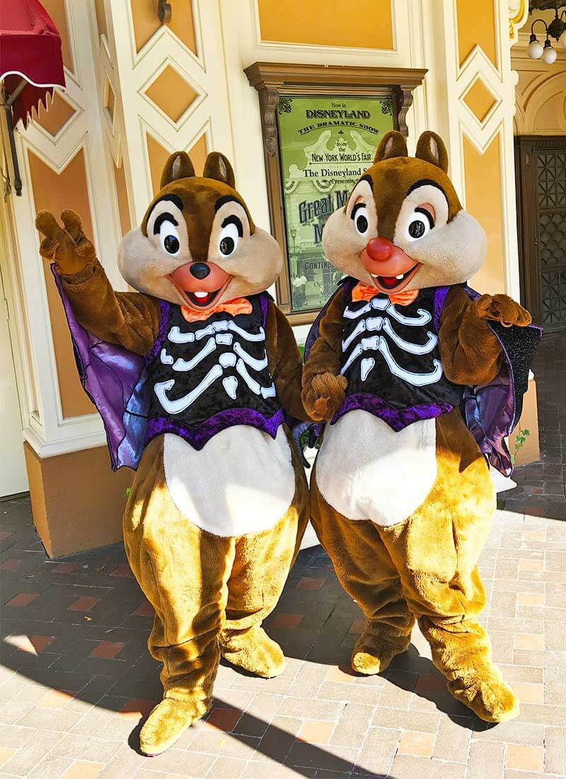Guide to Disneyland Halloween Time 2019-Chip and Dale