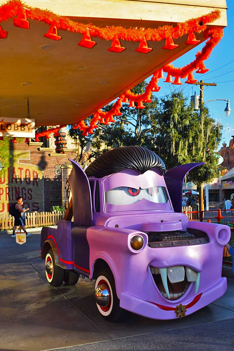 Guide to Disneyland Halloween Time 2019-Mater