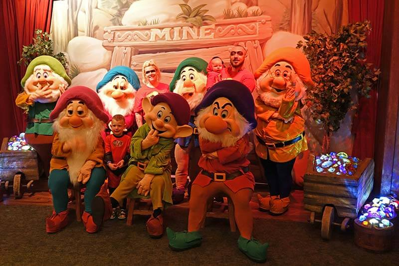 Mickey's Not So Scary Halloween Party - Seven Dwarfs