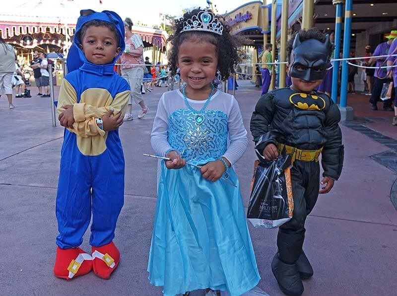 Mickey's Not So Scary Halloween - Siblings in Costumes