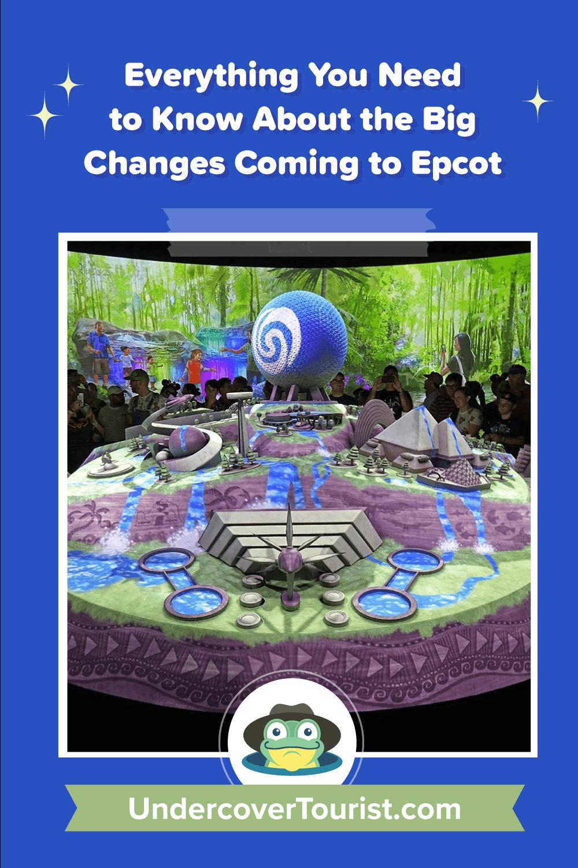 Epcot Changes - Pinterest Image