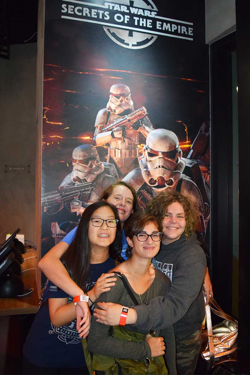 Trusted Tips for Going to Disneyland with Teens and Tweens - The Void in Downtown Disney